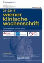 Wiener klinische Wochenschrift 21-22/2014