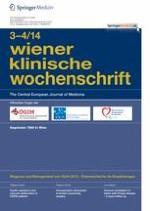 Wiener klinische Wochenschrift 3-4/2014