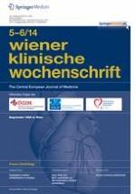 Wiener klinische Wochenschrift 5-6/2014