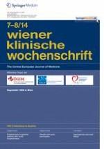 Wiener klinische Wochenschrift 7-8/2014