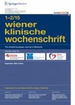 Wiener klinische Wochenschrift 1-2/2015