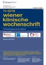 Wiener klinische Wochenschrift 11-12/2015