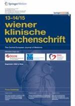 Wiener klinische Wochenschrift 13-14/2015