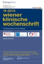 Wiener klinische Wochenschrift 19-20/2015