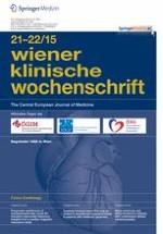 Wiener klinische Wochenschrift 21-22/2015
