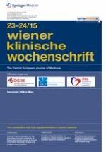 Wiener klinische Wochenschrift 23-24/2015