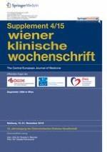 Wiener klinische Wochenschrift 4/2015