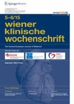 Wiener klinische Wochenschrift 5-6/2015