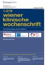 Wiener klinische Wochenschrift 1-2/2016