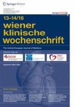 Wiener klinische Wochenschrift 13-14/2016