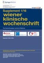 Wiener klinische Wochenschrift 1/2016