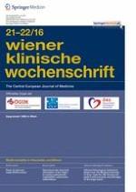 Wiener klinische Wochenschrift 21-22/2016