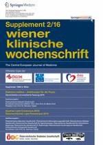 Wiener klinische Wochenschrift 2/2016