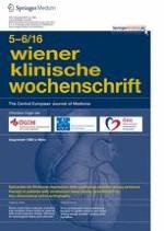 Wiener klinische Wochenschrift 5-6/2016