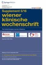 Wiener klinische Wochenschrift 5/2016