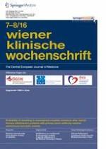 Wiener klinische Wochenschrift 7-8/2016