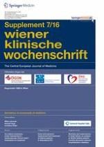 Wiener klinische Wochenschrift 7/2016