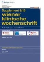 Wiener klinische Wochenschrift 8/2016