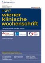 Wiener klinische Wochenschrift 1-2/2017
