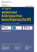 Wiener klinische Wochenschrift 17-18/2017