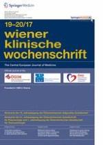 Wiener klinische Wochenschrift 19-20/2017
