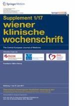Wiener klinische Wochenschrift 1/2017