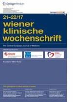 Wiener klinische Wochenschrift 21-22/2017