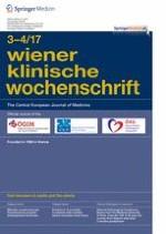 Wiener klinische Wochenschrift 3-4/2017