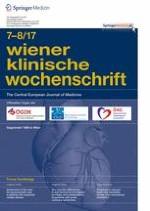 Wiener klinische Wochenschrift 7-8/2017