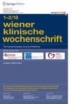 Wiener klinische Wochenschrift 1-2/2018