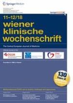 Wiener klinische Wochenschrift 11-12/2018