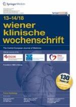 Wiener klinische Wochenschrift 13-14/2018