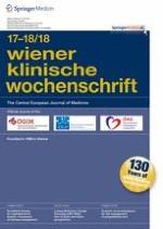 Wiener klinische Wochenschrift 17-18/2018