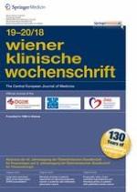 Wiener klinische Wochenschrift 19-20/2018