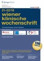 Wiener klinische Wochenschrift 21-22/2018