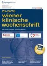 Wiener klinische Wochenschrift 23-24/2018