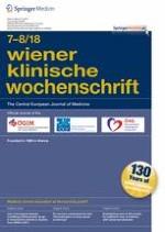 Wiener klinische Wochenschrift 7-8/2018
