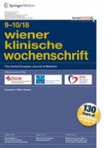 Wiener klinische Wochenschrift 9-10/2018