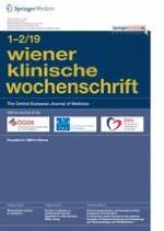 Wiener klinische Wochenschrift 1-2/2019