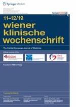 Wiener klinische Wochenschrift 11-12/2019