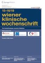 Wiener klinische Wochenschrift 15-16/2019