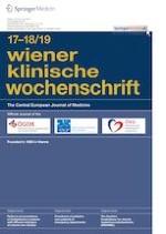 Wiener klinische Wochenschrift 17-18/2019