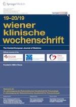 Wiener klinische Wochenschrift 19-20/2019