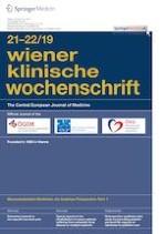 Wiener klinische Wochenschrift 21-22/2019
