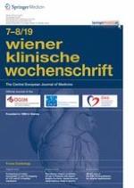 Wiener klinische Wochenschrift 7-8/2019