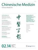 Chinesische Medizin / Chinese Medicine 2/2014