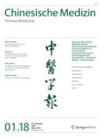 Chinesische Medizin / Chinese Medicine 1/2018