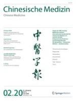 Chinesische Medizin / Chinese Medicine 2/2020