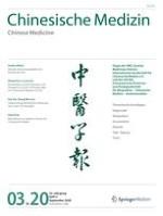 Chinesische Medizin / Chinese Medicine 3/2020