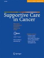 Supportive Care in Cancer 9/2007